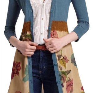 Knitted and knotted for Anthropologie tunic